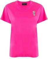 Monogram Seahorse patch T-shirt