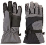 Spyder Black & Grey Performance Ski Gloves