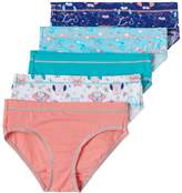 Hanes Girls 6-16 5-pk. Tagless Stretchy Hipster Panties