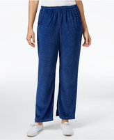 Alfred Dunner Petite Adirondack Trail Embellished Pull-On Pants