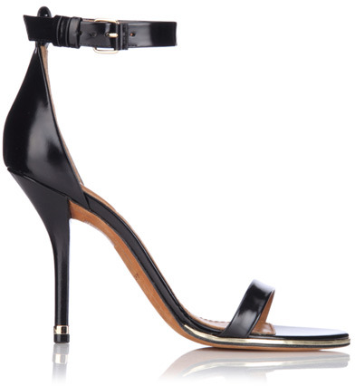 Givenchy Patent Leather Strap Sandal