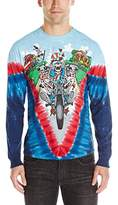 Liquid Blue Men's Moto Sam Long Sleeve T-Shirt