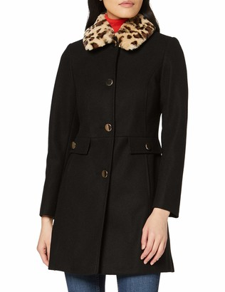 Dorothy Perkins Women's Fur Collar Dolly Coat