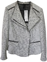 Marc Cain Grey Cotton Jacket for Women
