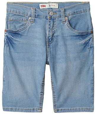 Levi's Kids 511tm Slim Fit Lightweight Denim Shorts (Big Kids) (Crystal Springs) Boy's Shorts