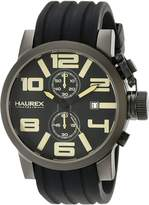 Haurex Men's 6N506UTM Turbina II Silicone Watch
