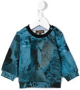 Roberto Cavalli abstract print sweatshirt - kids - Cotton/Spandex/Elastane - 6 mth