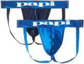 Papi Men's 2-Pack Microfusion Performance Jock Strap