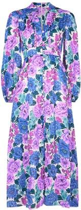 Zimmermann Poppy floral-print linen midi dress