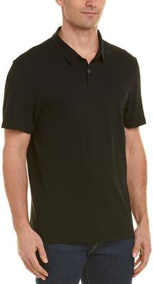 James Perse Fresca Twill Polo Shirt
