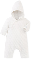 Petit Bateau Babys hooded all-in-one