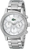 Lacoste Women's 2000833 Charlotte Silver-Tone Stainless Steel Watch