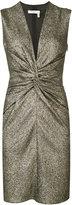 Lanvin ruched mini dress - women - Silk/Polyester/Spandex/Elastane - 36