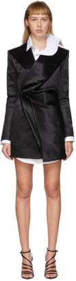 Y/Project Black Pop-Up Blazer Dress