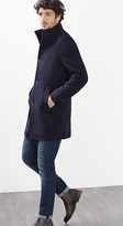 Esprit OUTLET padded wool coat