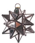 Mini Antique Mirror Moravian Star