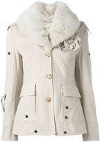 Ermanno Scervino floral corsage jacket