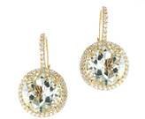 Jarin K Jewelry - Vibrant Halo Drop Earrings