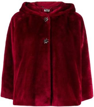 Liu Jo Short-Length Hooded Jacket
