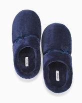 Soma Intimates Plush Slippers Navy