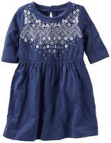 Osh Kosh 2-Piece Embellished Indigo Dress