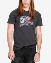 Denim & Supply Ralph Lauren Men's American Biker Skull Logo T-Shirt