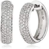 Celesta Diamonds By Ellen K. Women's Creole Earrings 585 White Gold – Diamond 0,50karat 317310004 1