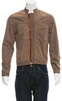 Paul Smith Distressed Zip-Up Jacket