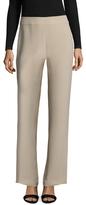 Giorgio Armani Solid Side Zip Straight Leg Pant