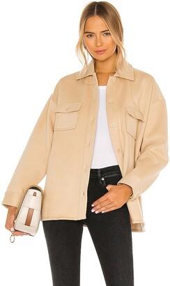 Lovers + Friends Belted Utility Fleece Jacket