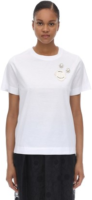 MONCLER GENIUS Simone Rocha Cotton Jersey T-shirt