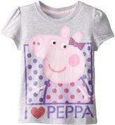 Peppa Pig Little Girls' Toddler Short Sleeve T-Shirt