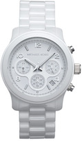 Michael Kors 'Runway Ceramic' Watch, 40mm