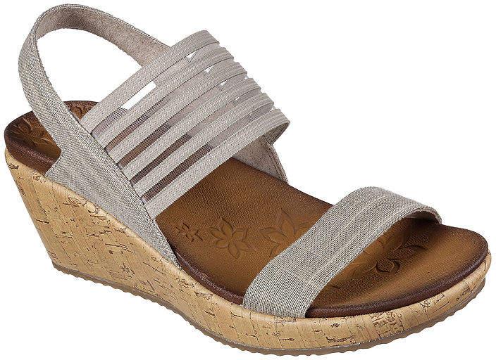 2d46ce188692 Skechers Elastic Straps Women s Sandals - ShopStyle