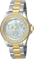 Invicta Womens Two Tone Bracelet Watch-17437