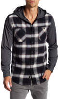 Burnside Plaid Flannel Hoodie