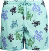 Vilebrequin Moorea Turtles-print swim shorts
