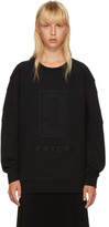Marc Jacobs Black Logo Sweatshirt