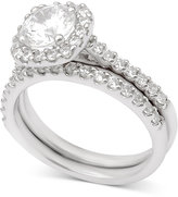 Macy's Diamond Halo Bridal Set (2 ct. t.w.) in 14k White Gold