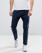 Sisley Cropped Trouser In Tapered Fit
