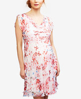 Seraphine Maternity Silk A-Line Dress