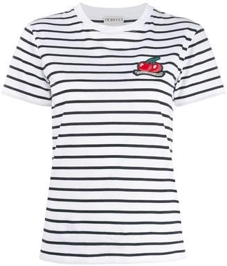 Fiorucci cherry patch T-shirt