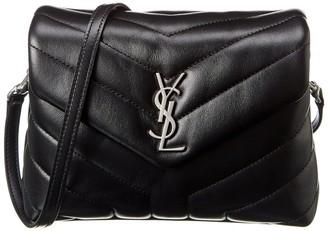 Saint Laurent Toy Loulou Y Quilted Leather Shoulder Bag