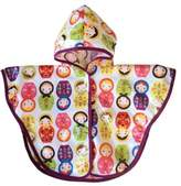 Satsuma Designs Baby and Toddler Poncho, Russian Dolls by