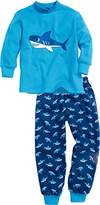 Playshoes Boy's Interlock Shark Pyjama Set,(Manufacturer Size:4-/110 cm)