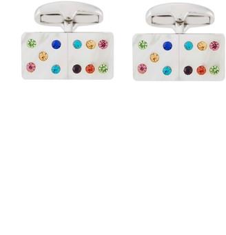Paul Smith Embellished Domino Cufflinks