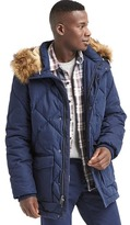 Gap ColdControl Max hooded puffer parka