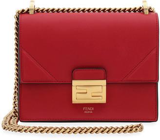 Fendi Kan U Small Matte Grace Leather Crossbody Bag