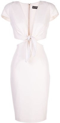 HANEY Phoebe cut out dress