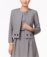 Nine West Taylor Grommet-Trim Jacket